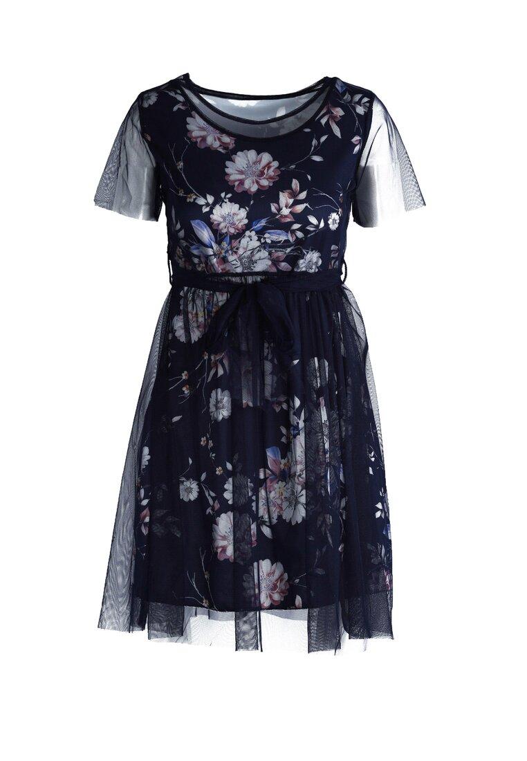Granatowa Sukienka La La Land