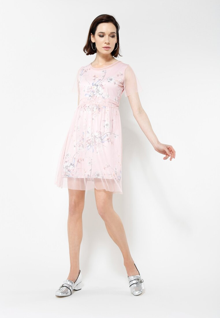 Różowa Sukienka La La Land