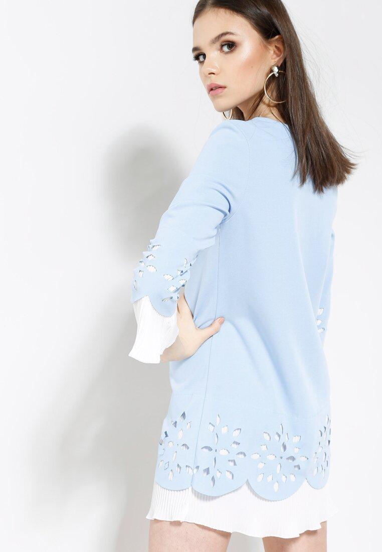 Niebieska Sukienka Working Girl