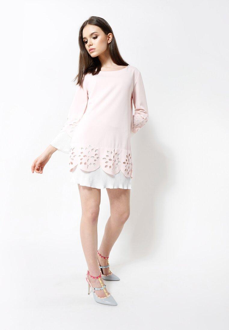 Różowa Sukienka Working Girl