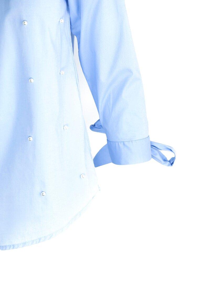 Niebieska Bluzka Just Like That