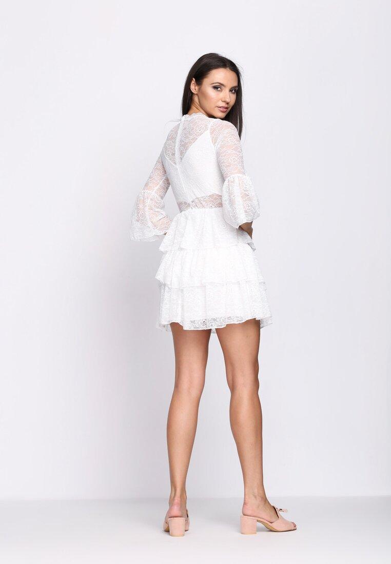Biała Sukienka Midnight Sun