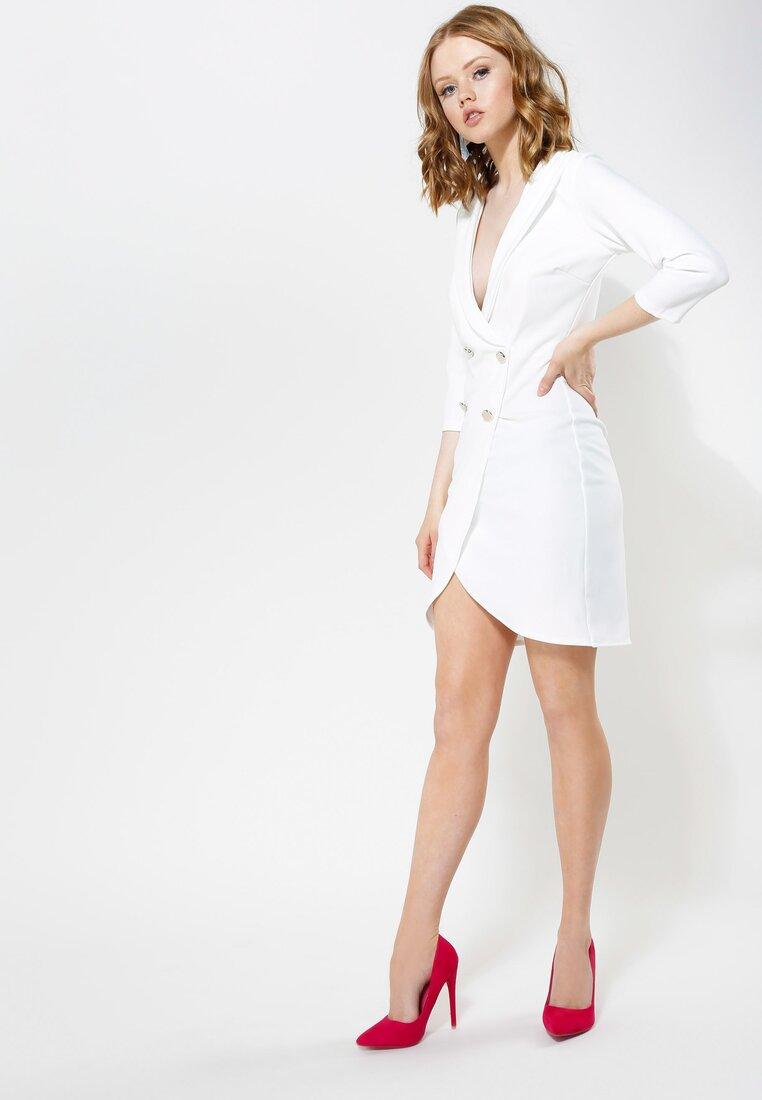 Biała Sukienka Born To Move