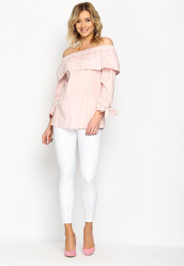 Różowa Bluzka Renaissance Charm