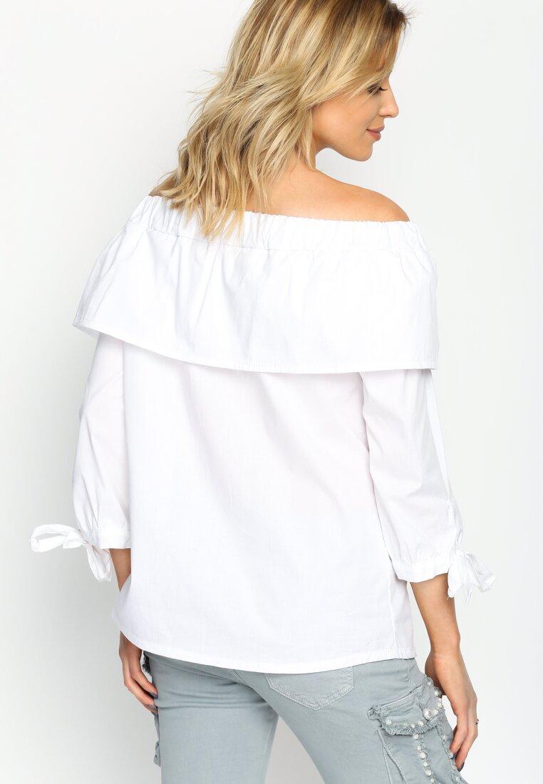 Biała Bluzka Renaissance Charm