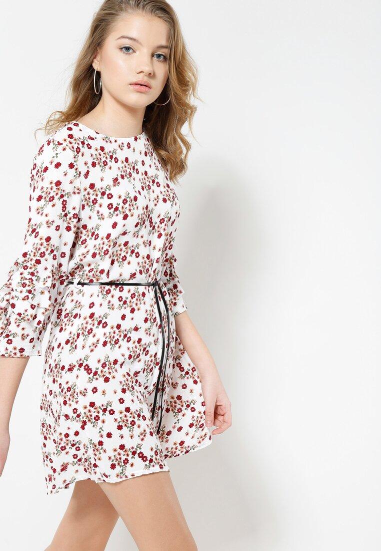 Biała Sukienka Bloom In Town