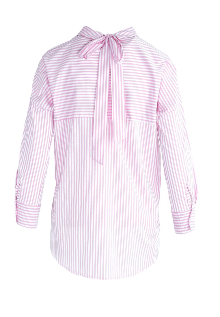 Różowa Bluzka All In Stripes