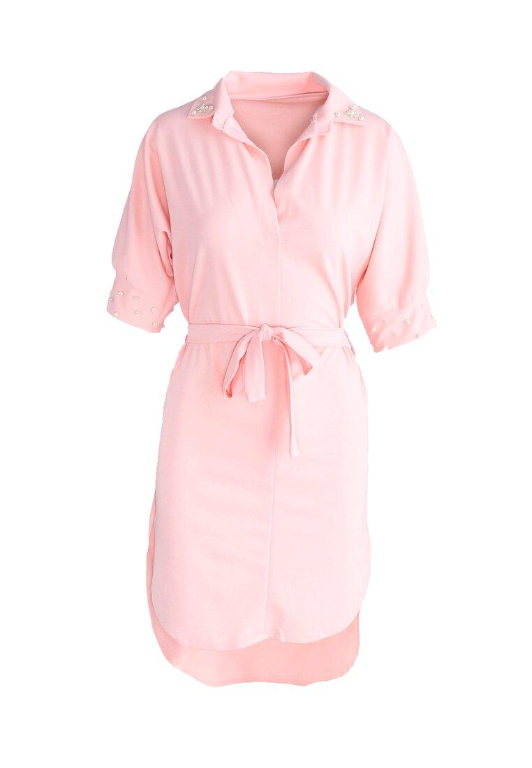 Różowa Sukienka Blow Me Down!