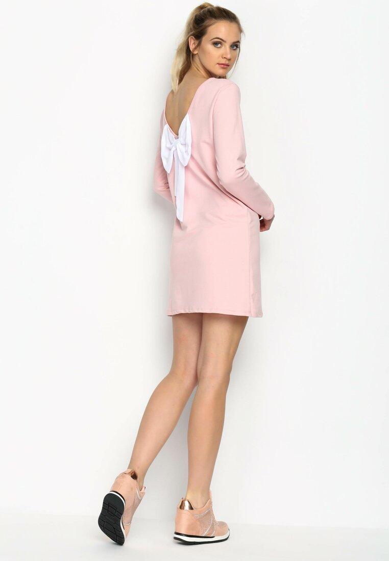 Różowa Sukienka Kissa Me Baby