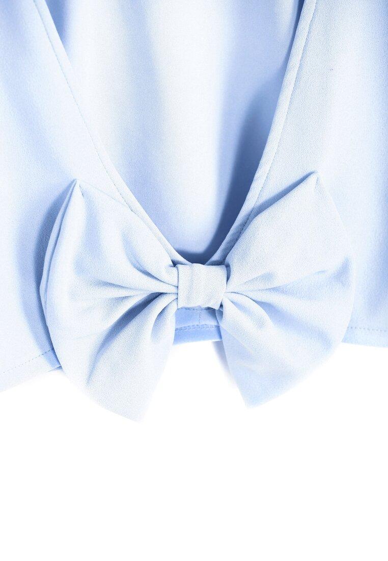 Niebieska Bluzka Dancing Back