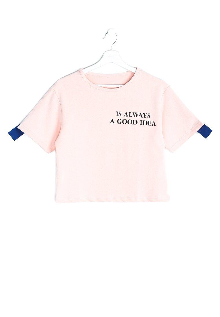 Różowa Bluzka Good Idea
