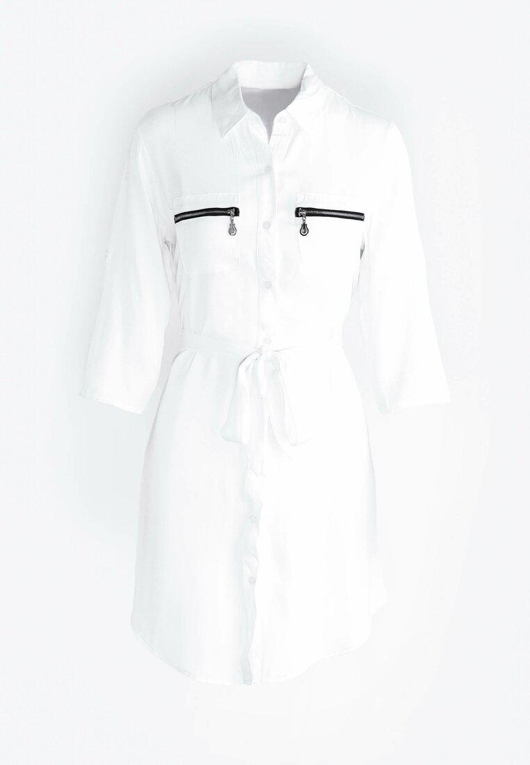 Biała Sukienka Need More