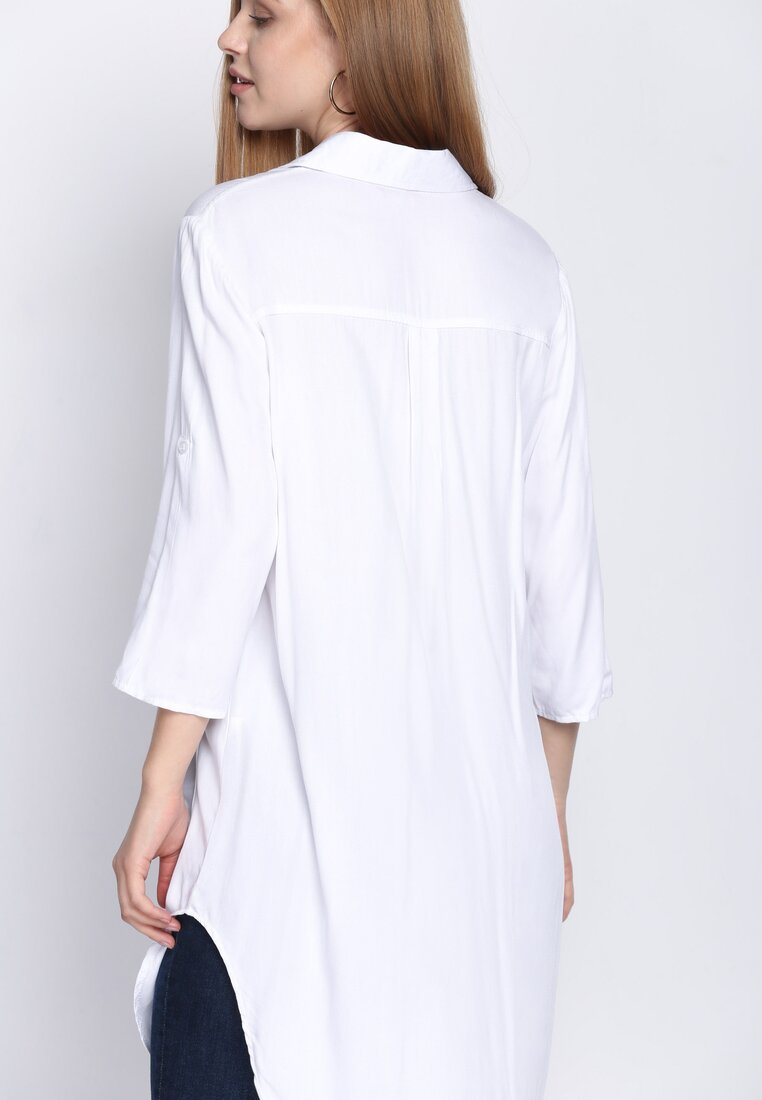 Biała Koszula Cut Out