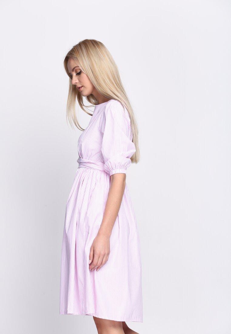 Różowa Sukienka Thumbelina