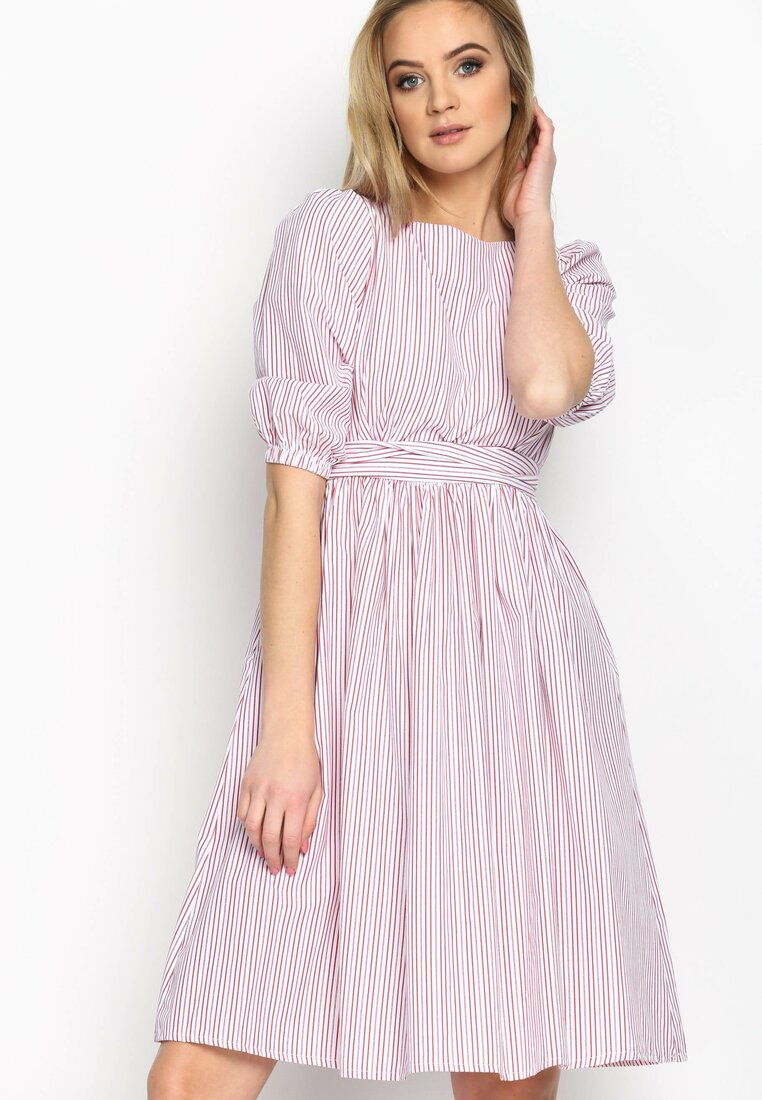 Czerwona Sukienka Thumbelina