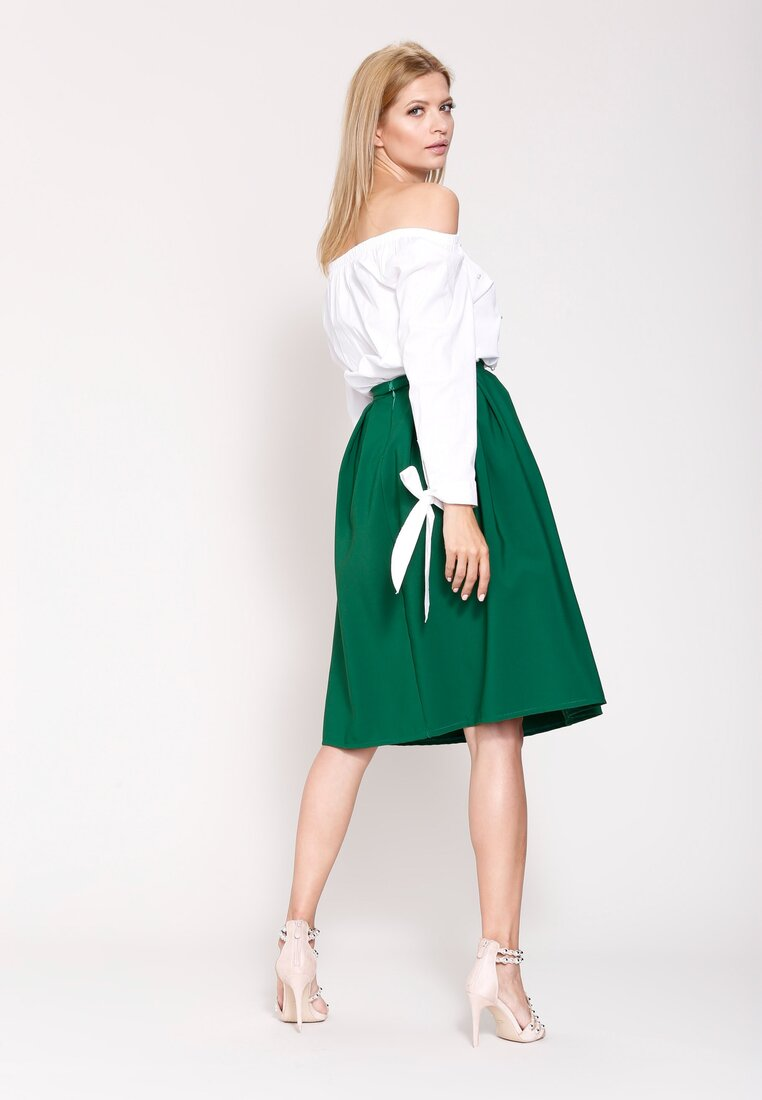 Zielona  Spódnica Fifties Mood