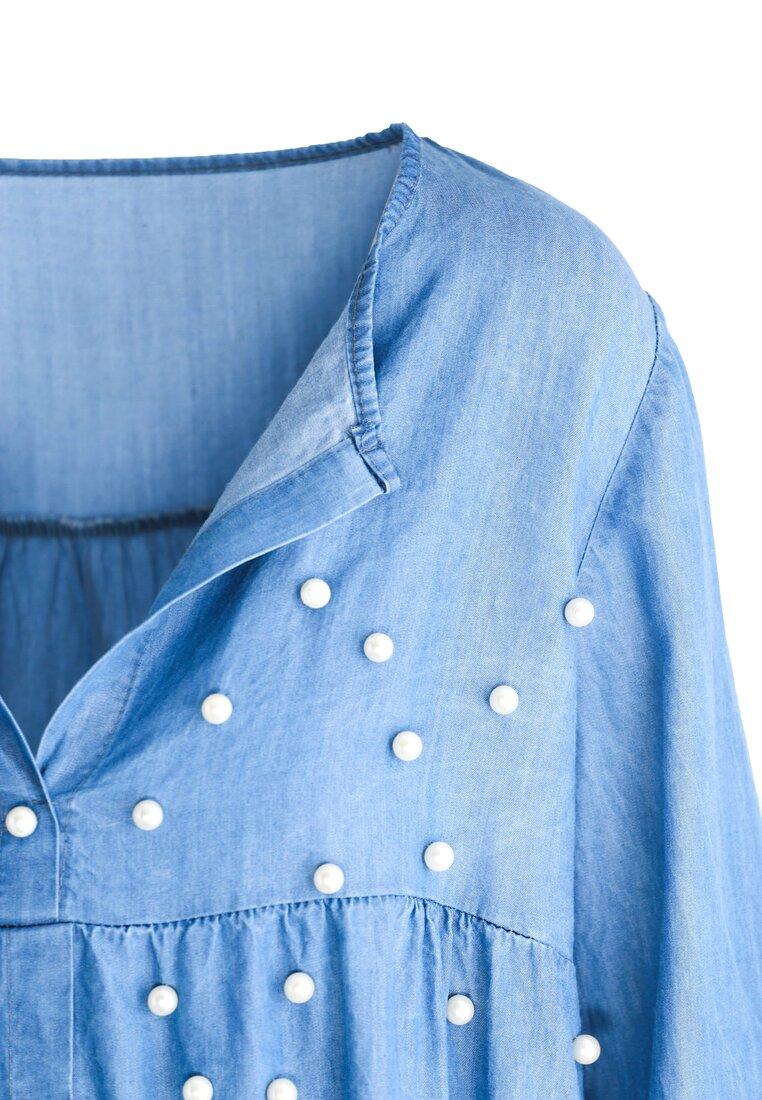 Niebieska Bluzka Bossy
