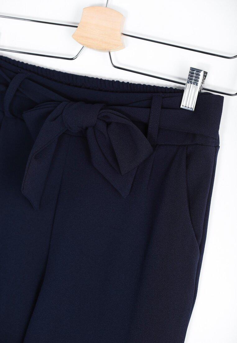 Granatowe Spodnie Upper Classical