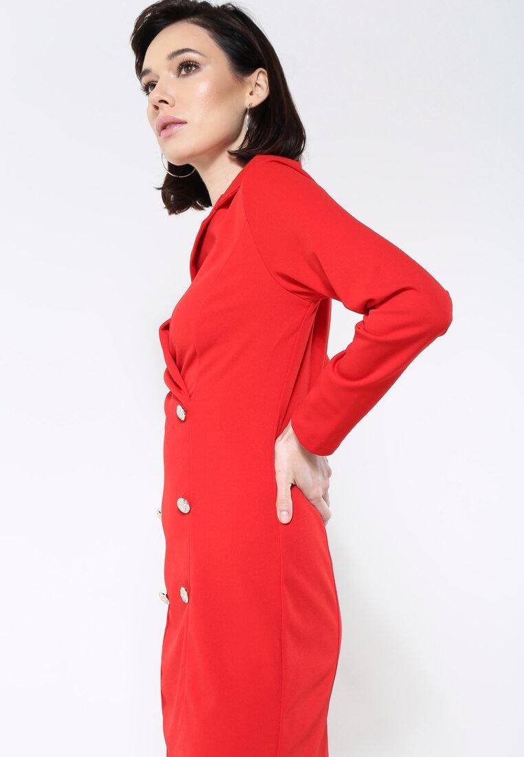 Czerwona Sukienka The One