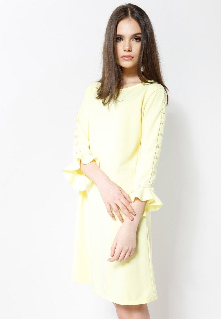 Żółta Sukienka Perfect Date