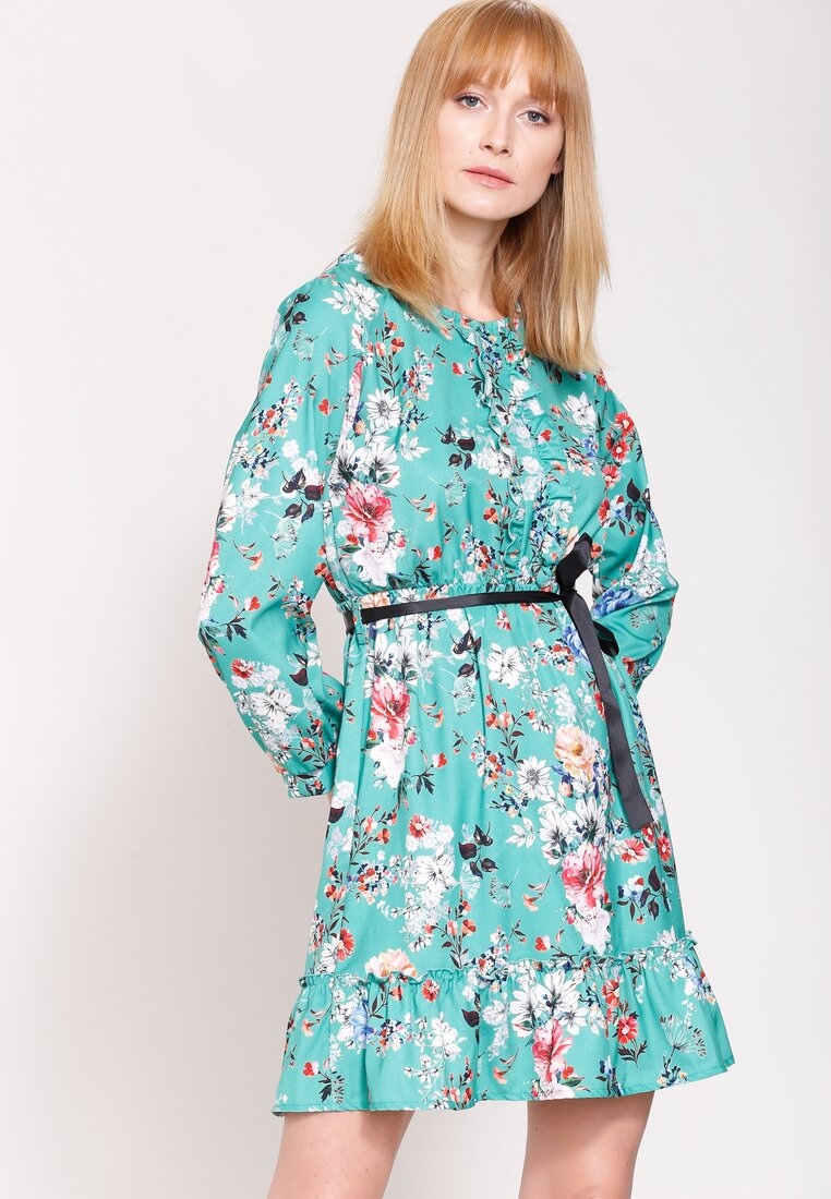 Zielona Sukienka Florentin