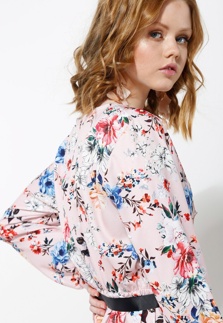 Różowa Sukienka Florentin
