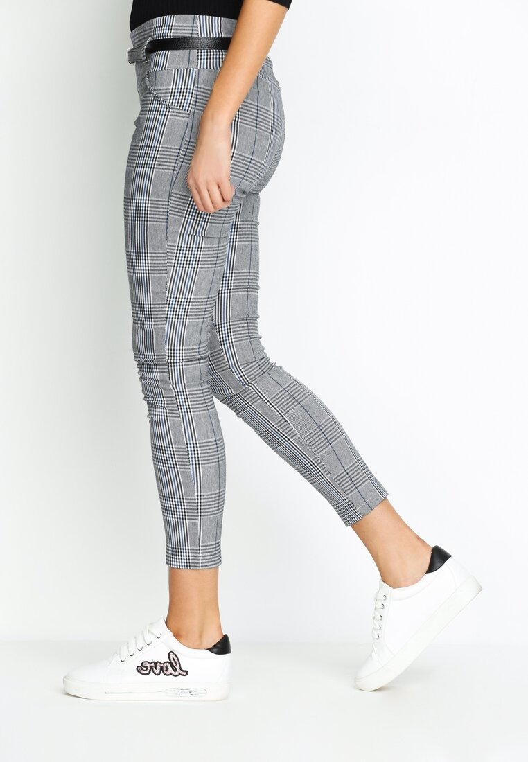 Szaro-Niebieskie Spodnie Officiall Form