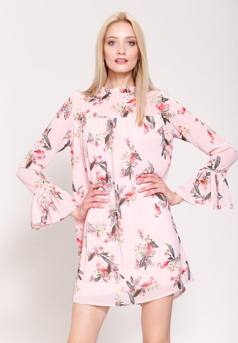 Różowa Sukienka Fly Away
