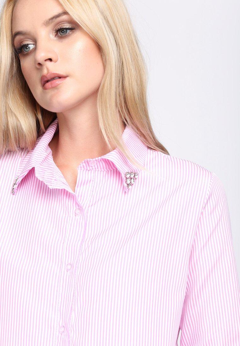 Różowa Koszula Upright