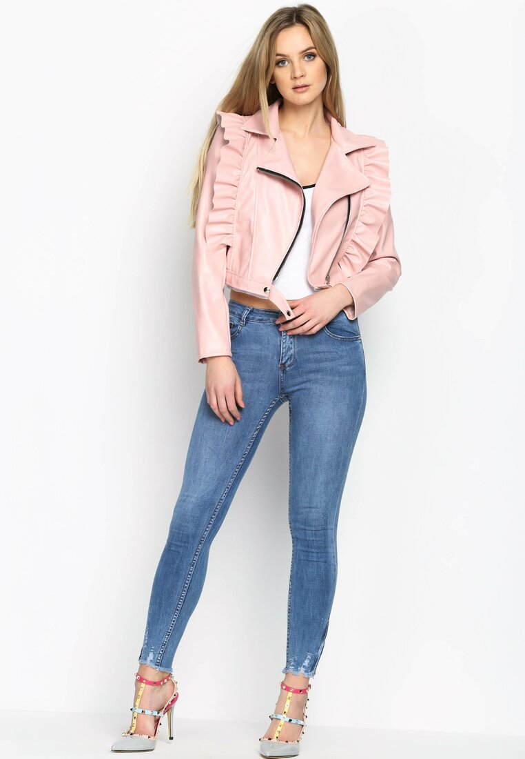 Różowa Ramoneska Girl Choice