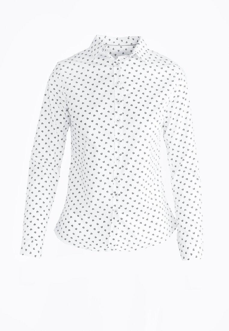 Biała Koszula Clover Mix