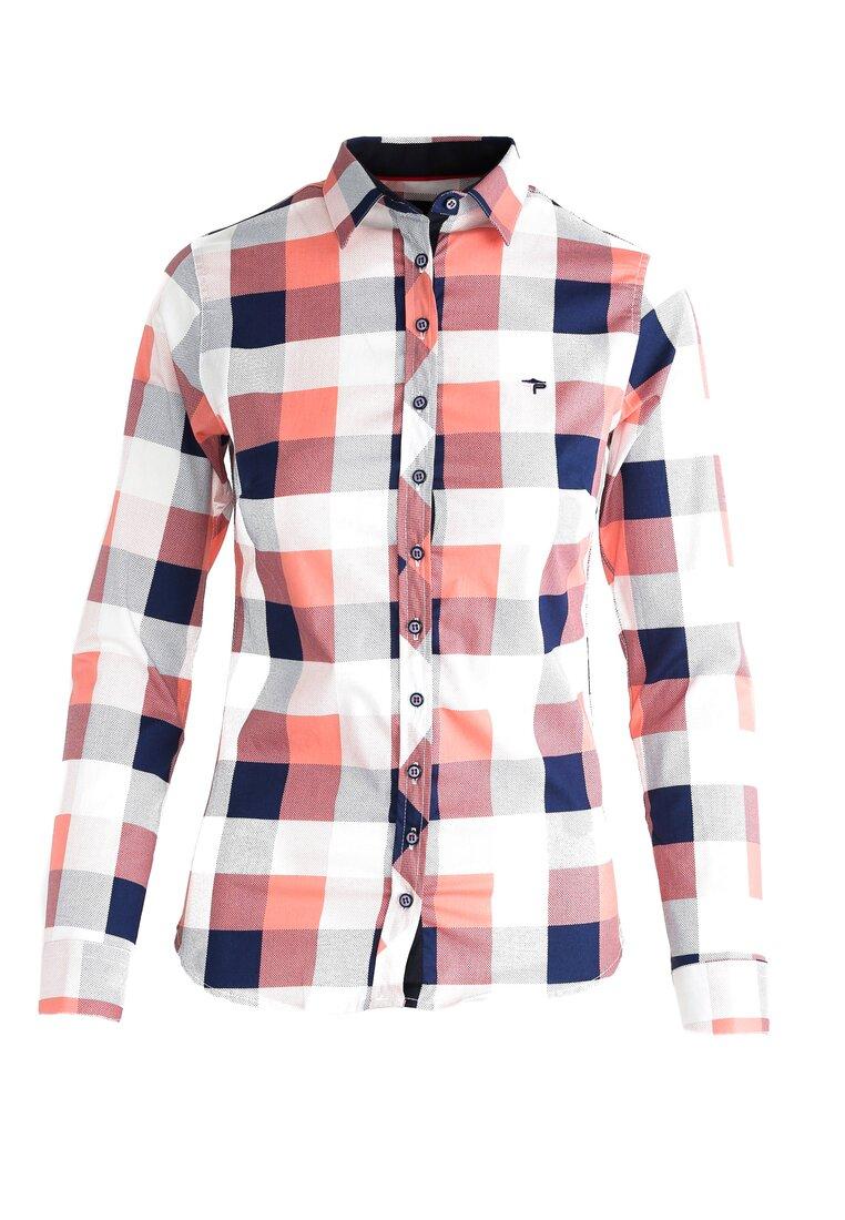 Łososiowa Koszula American Triangle