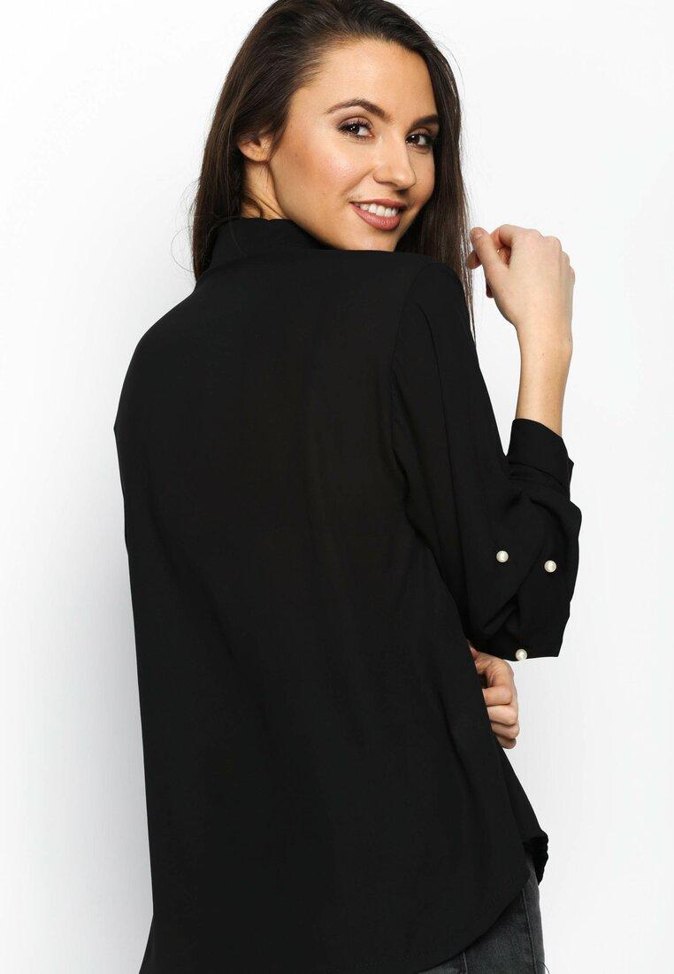 Czarna Koszula Magical Sleeves