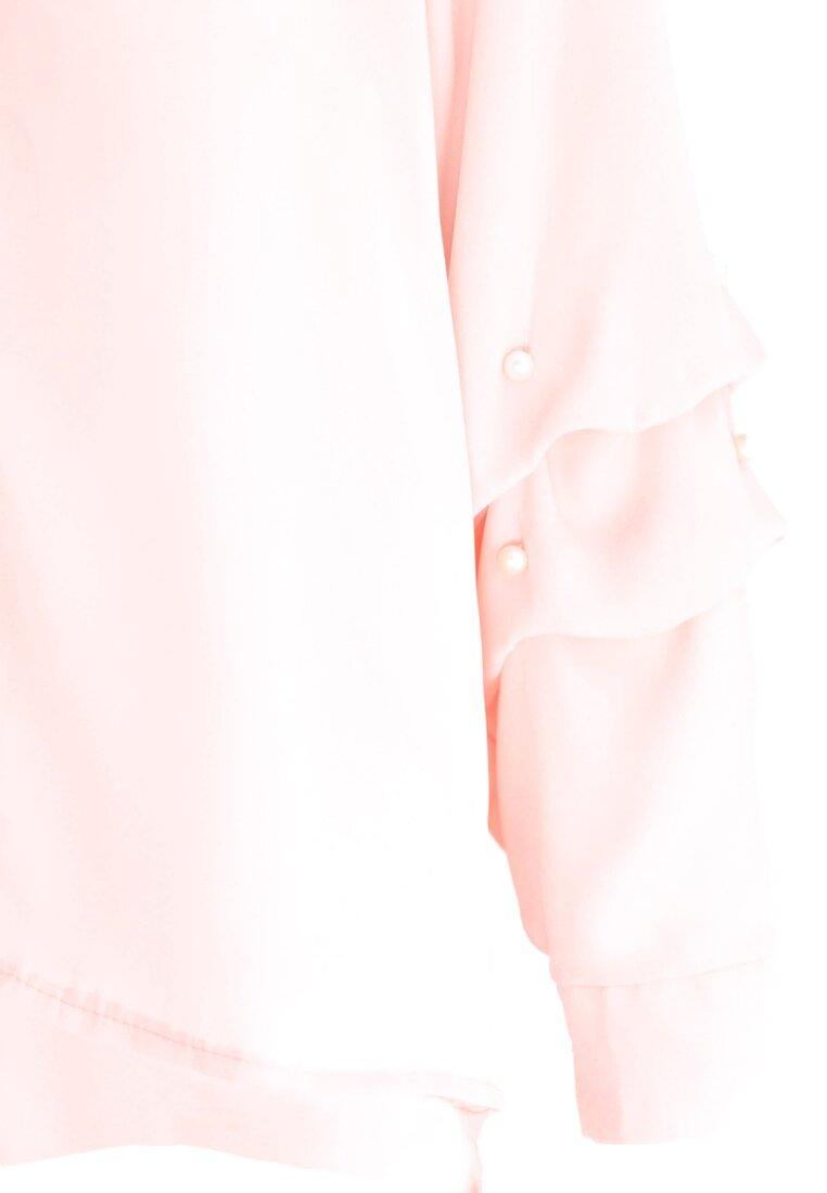Łososiowa Koszula Magical Sleeves