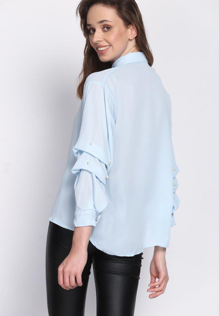 Niebieska Koszula Magical Sleeves