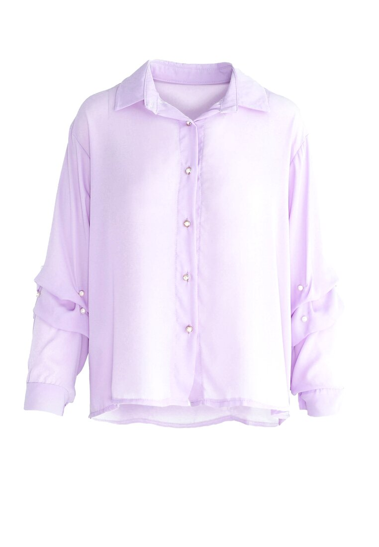 Fioletowa Koszula Magical Sleeves