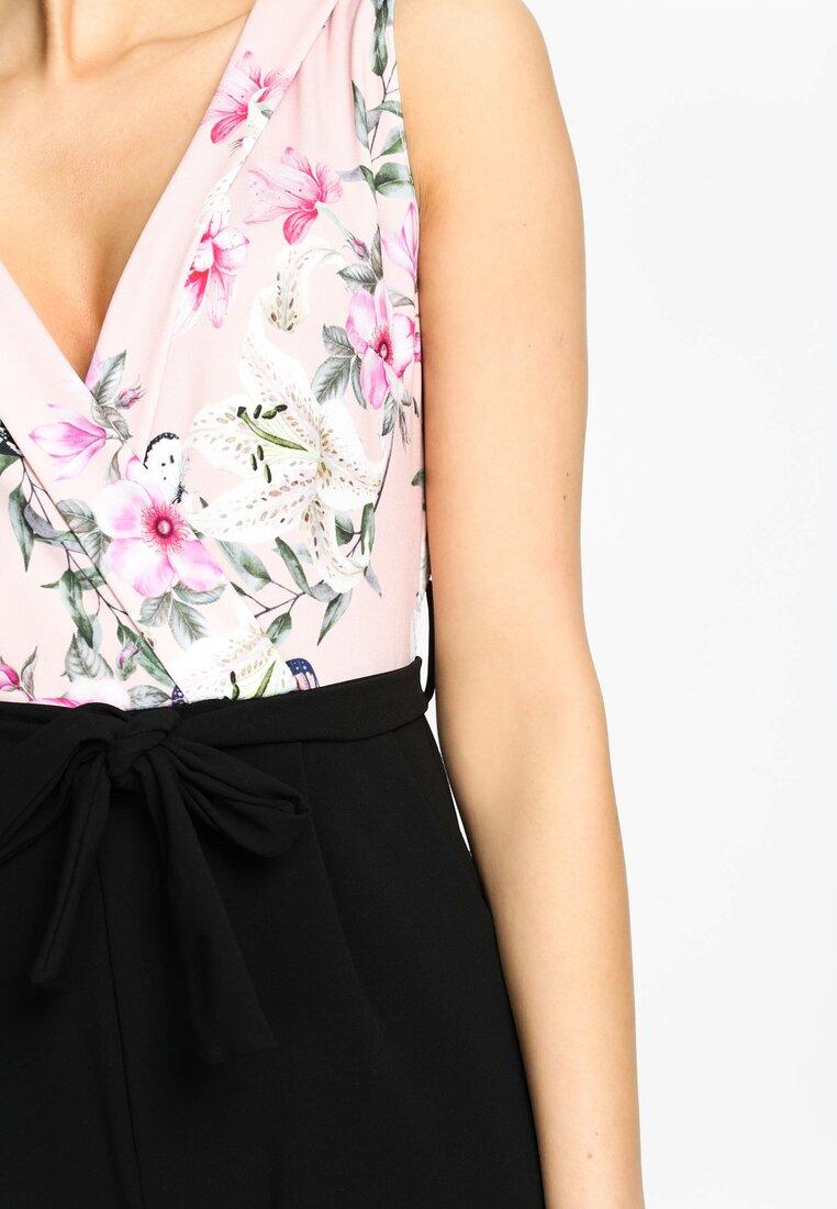 Różowy Kombinezon Highly Stylish