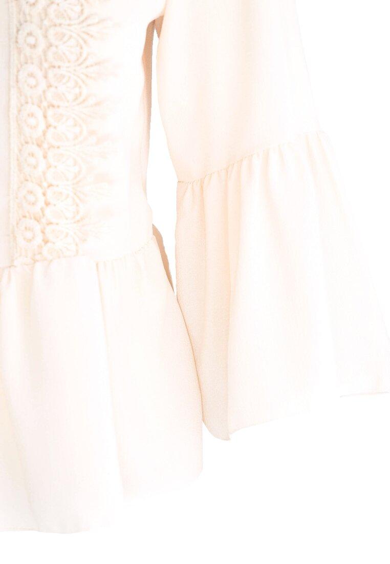 Kremowa Bluzka Soft & Innocent