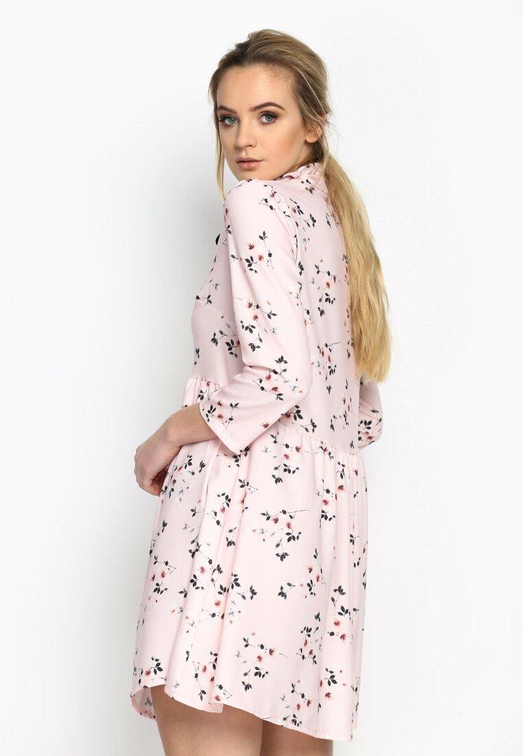Różowa Sukienka Stop Crying