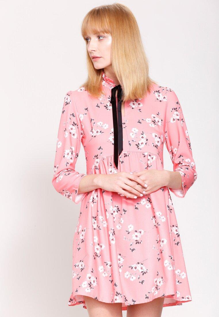 Łososiowa Sukienka Stop Crying