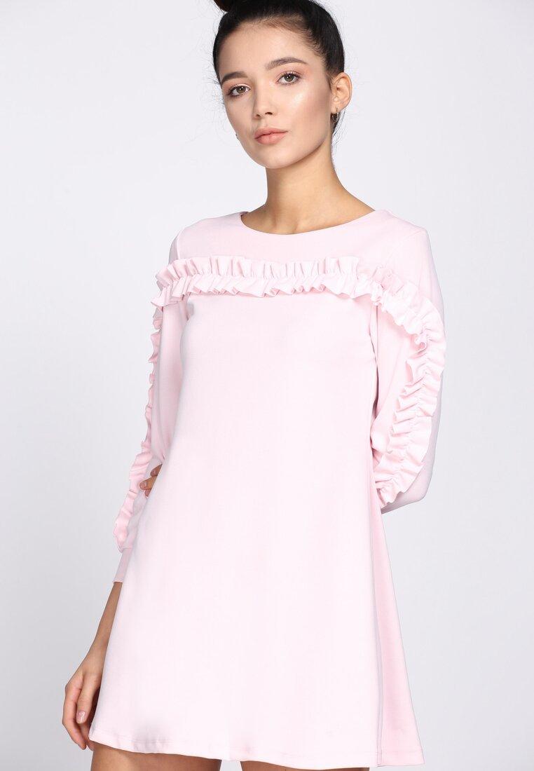 Różowa Sukienka We Had It All