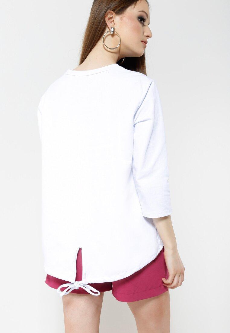 Biała Bluzka Earned It
