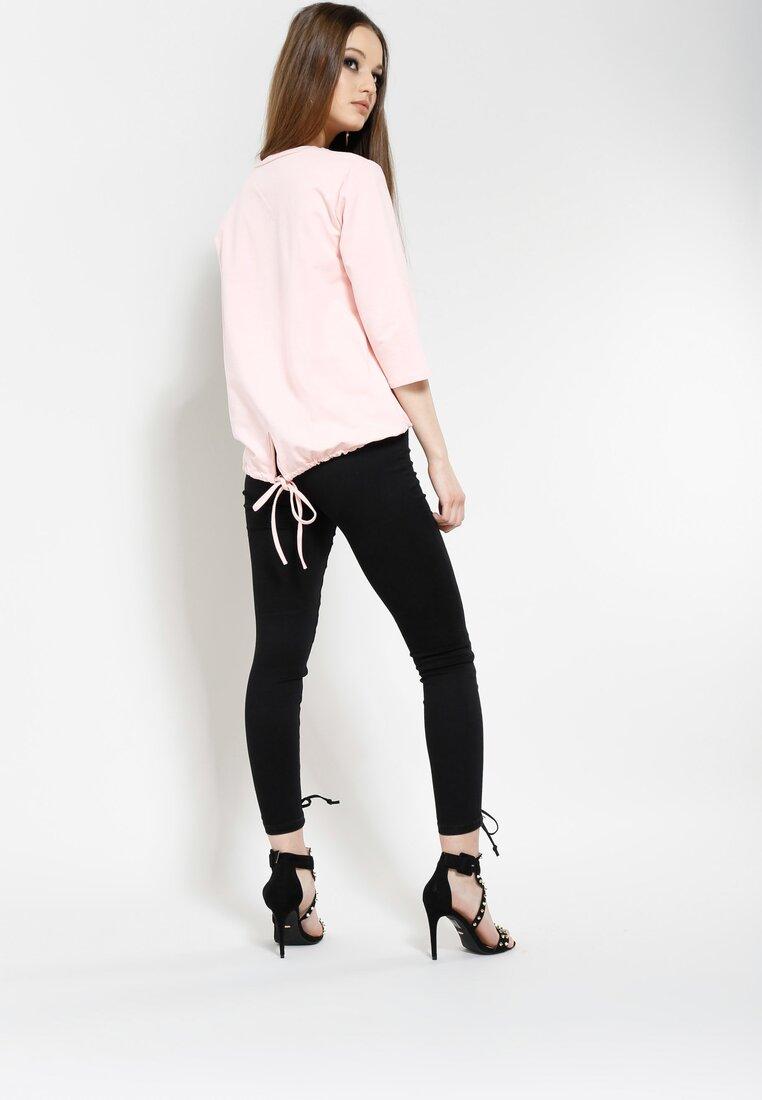Różowa Bluzka Earned It