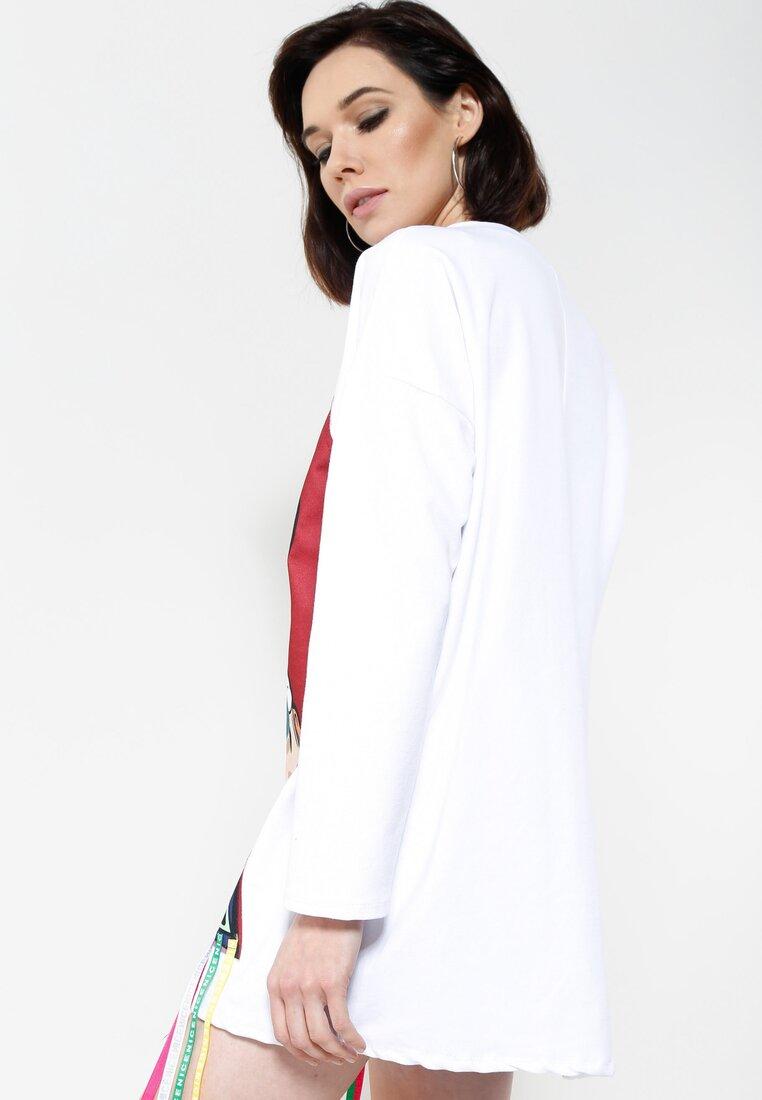 Biała Bluza Brand New Face