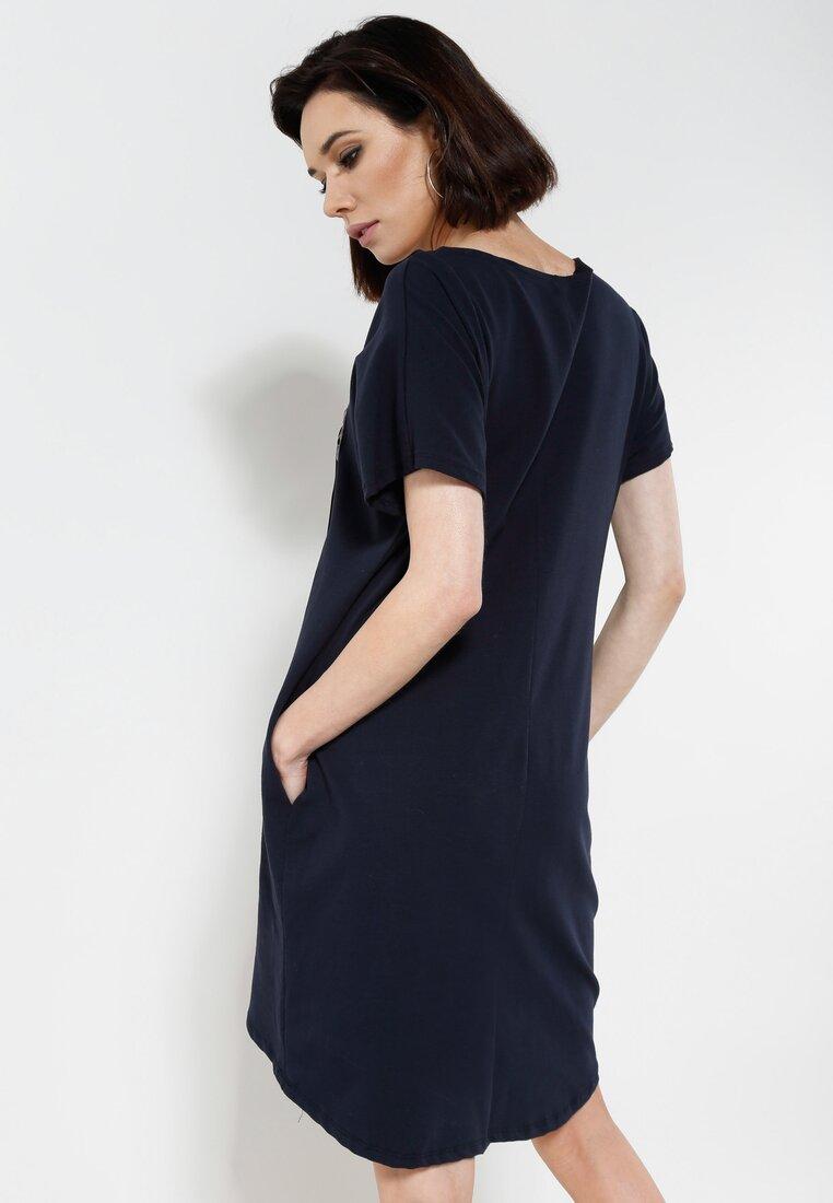 Granatowa Sukienka Reborn Lover