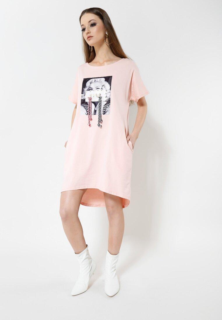 Różowa Sukienka Reborn Lover