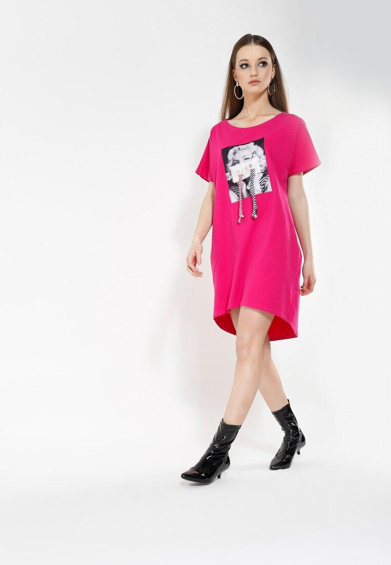 Fuksjowa Sukienka Fame Lover