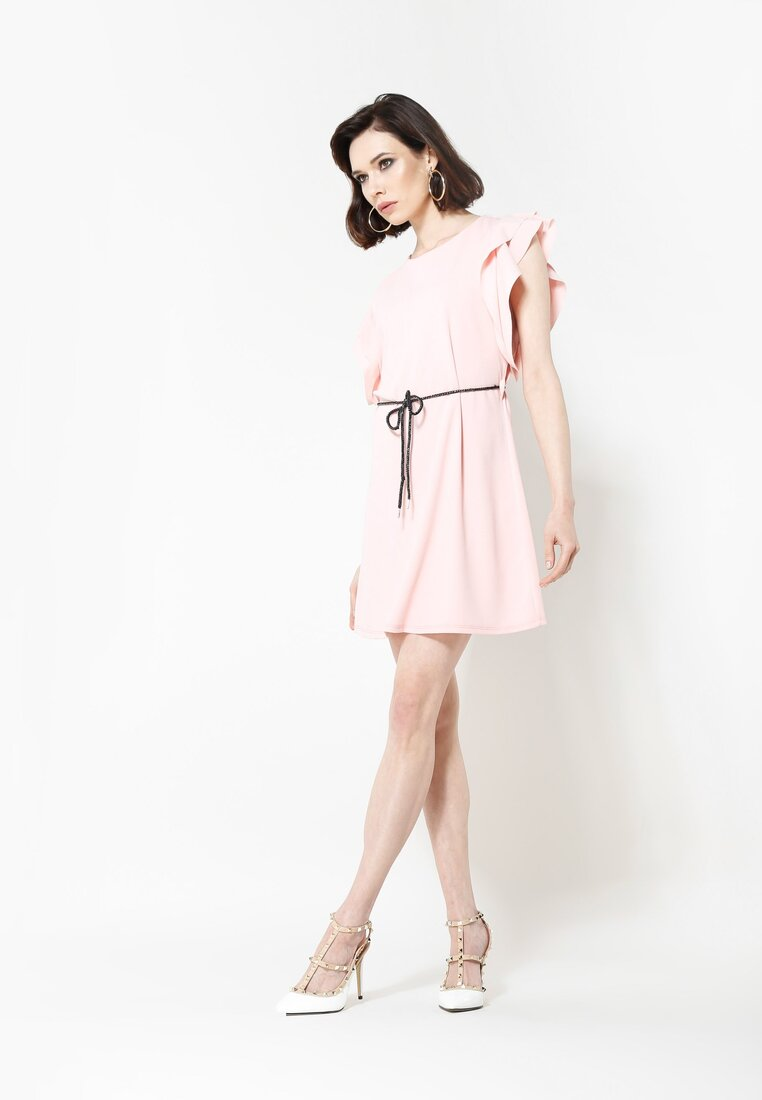 Jasnoróżowa Sukienka Do It Now