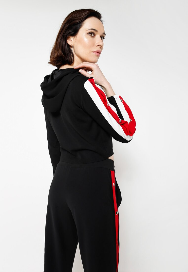 Czarna Bluza Ultra Sporty