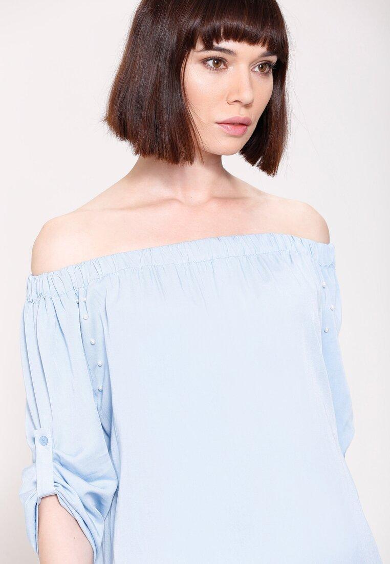 Niebieska Bluzka Spanish Lady